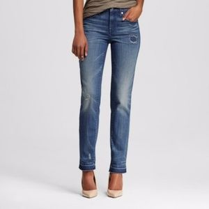 Mossimo High Rise Straight Jeans Style 520111